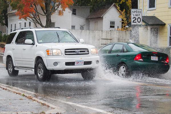 Rain Hits the Streets