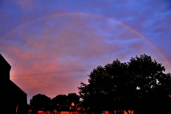 Rainbow at Sunrise 7.1.2014