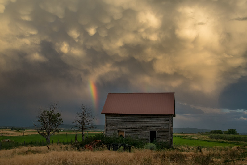 Old House stands strong in the storm