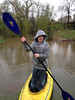 Brian Stevens age 10 kayaking in back yard in Sanatoga.<br /> <br /> Submitted by Christ Stevens