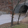 The tunnel, from the east side of Rt 65.  Normally, this is a road.