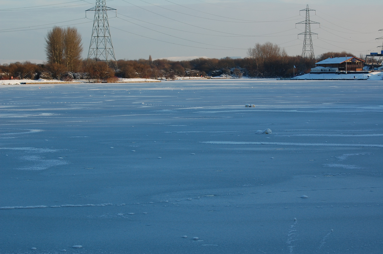 Sale Water Park, Totally frozen over 09/01/2010