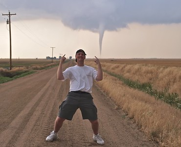 Mark with Harper Tornado