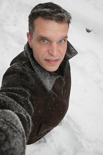 Shaver Lake in the Snow - December 2009