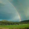 Rainbow over the Vallecito Valley, Indian Motor Works ranch.