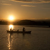 Sunset on Pastorius Lake, Durango CO.