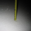 First night's measurement.  7""
