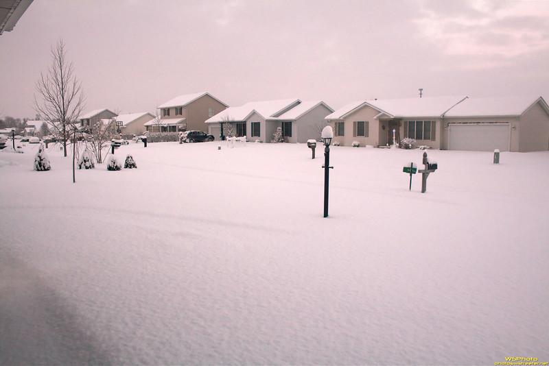 View from a Garage 2<br /> Goshen Snow 1/8/2011