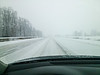 This was CR 17 near Goshen on my way home from church around 10:45 this morning (1/5/2014).