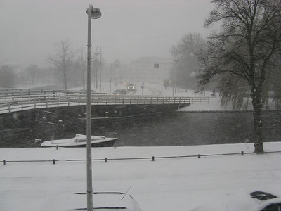 Snow, Leiden, December 2010