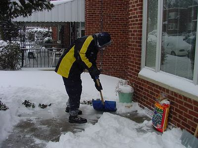 Snow Storm February 16-17, 2003