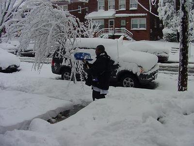 Snow Storm February 2006