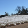 """January 17, 2018<br /> <br /> Indian Mound<br /> <br /> Dissipating snow around neighborhood subdivisions in our city (from the snow that fell on January 16, 2017).<br /> <br /> """"SNOW WHAT FUN"""" 2018<br /> <br /> My Homepage:  <a href=""""http://www.GodsChild.SmugMug.com"""">http://www.GodsChild.SmugMug.com</a>"""