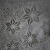 SNOWFLAKES everywhere!  Even my snow boots leave snow flake prints.  :)