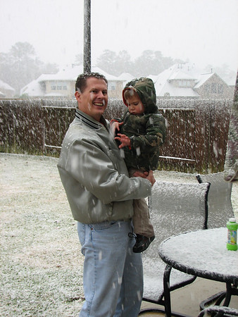 Snow in Texas 2009