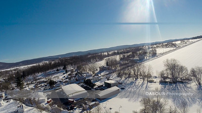 Blizzard of 2016 Aerial Day After