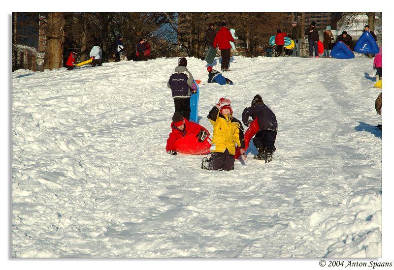 Snow fun.