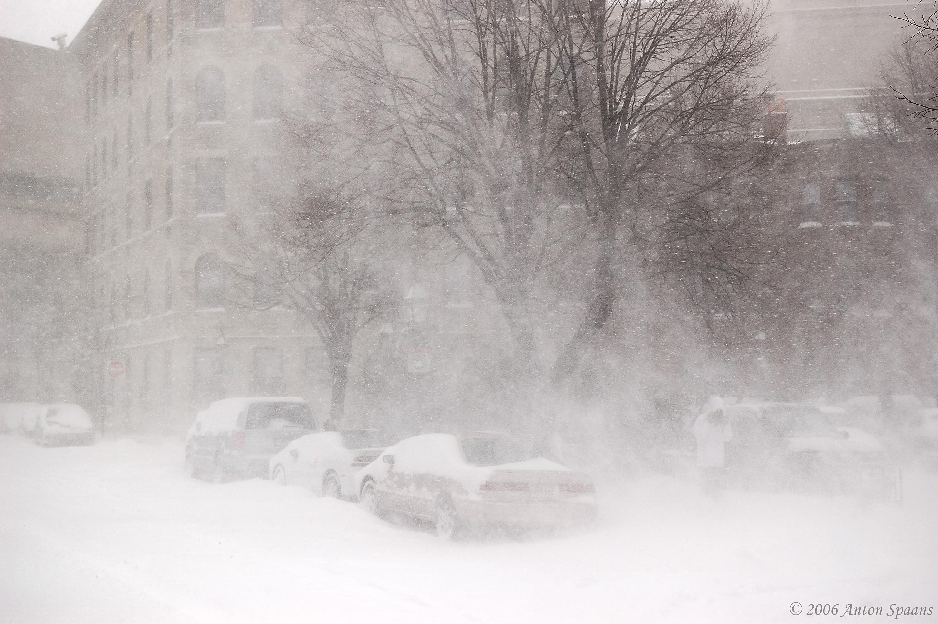 Boston Snow Storm Photos. Streets of Boston gt; Saint