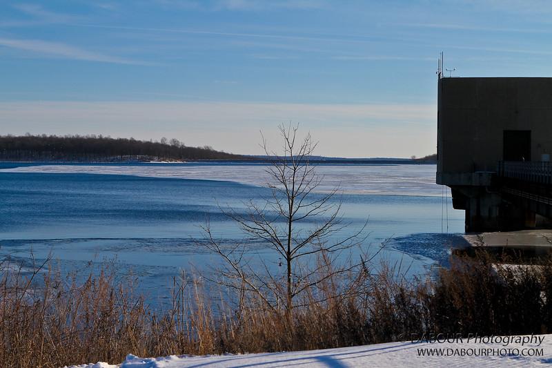 Merrill Creek - water tower intake end