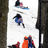 With fresh snow and no school for the Anderson area Shadyside Park was a popular place to have some outdoor fun in the snow.