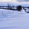 More Snow On Our Road.<br /> We never had much but what we did get all blew into the road and drive as usual.
