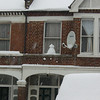 elevated snowman!