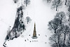 Aerial photo of The Cholera Monument photo in Sheffield.