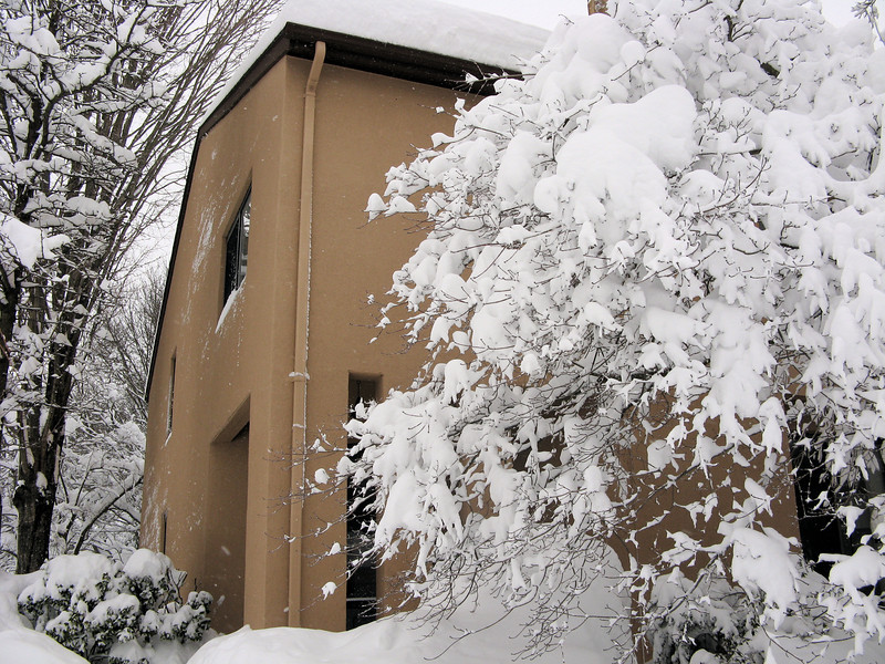 The snow is lovely now -- but I haven't tried to start shoveling yet.<br /> <br /> 2-6-10