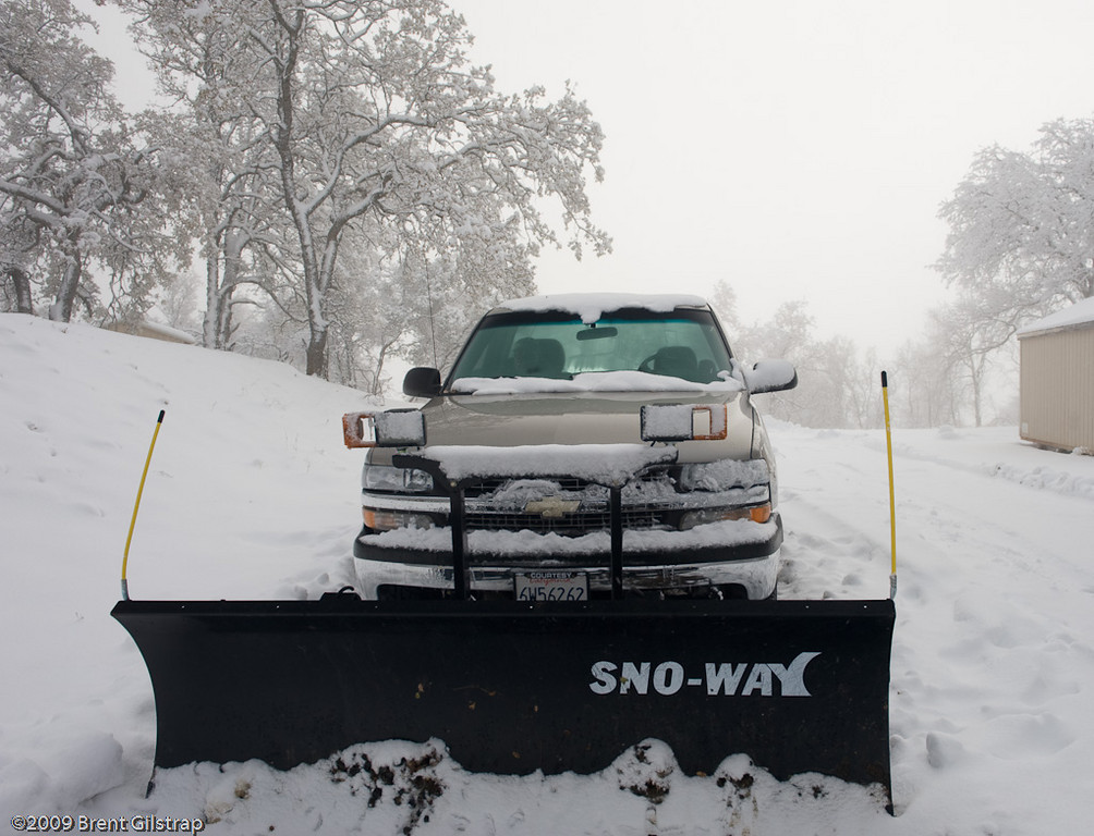 Truck! Now - New and  Improved - With SNOWPLOW!