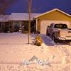 27  G Snowy House Night