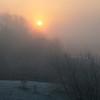 December 2010. Sunrise in Springburn.