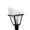 Snowy Lamp post