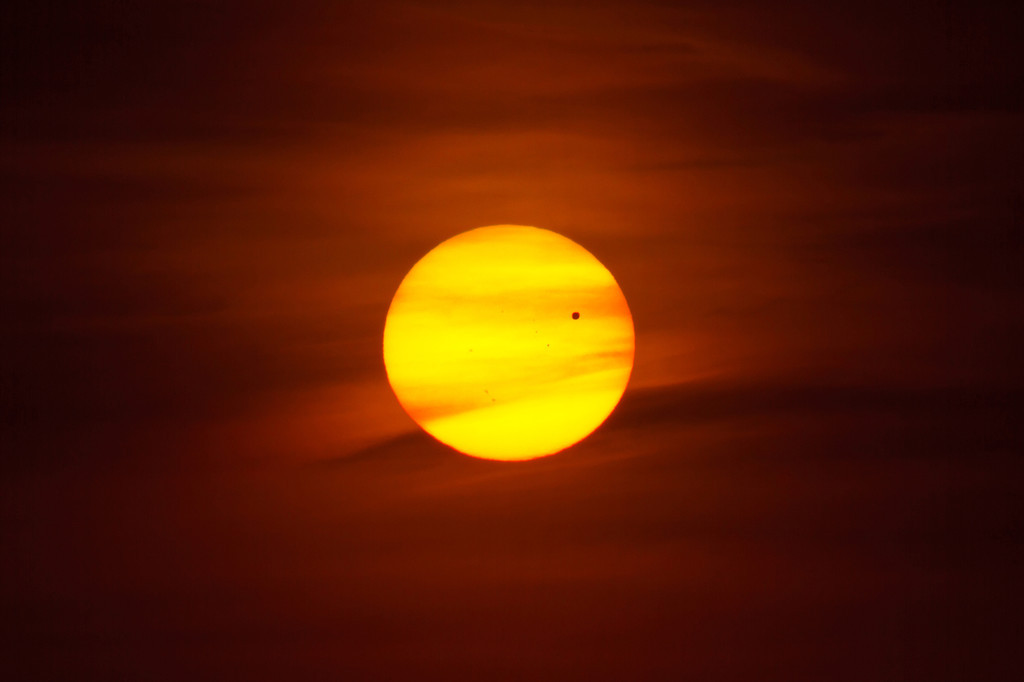 The transit of Venus on June 5th, 2012