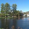 Lake Flower - park flooded