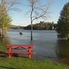 Lake Flower flooding