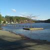 Lake Flower flooding -  NYS boat launch