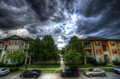 Storm cloud HDR images from late July, 2012, by John Shippee Photography.