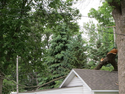Storm Damage in Morris Minnesota