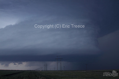 Supercell Thunderstorm near Lindon, CO on June 10, 2010.