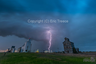 Wheeler, KS Lightning