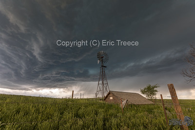 Kiowa, CO Windmill Storm