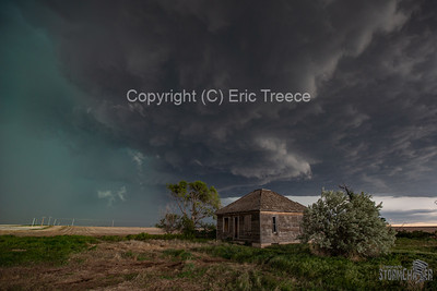 Tornadic Supercell near Cope, CO