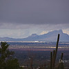 Pinal Air Park seen from our property.  Nov 13, 2011
