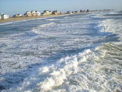 View from Rodanthe Pier 2012