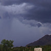 Storm from Campbell & Skyline, Tucson