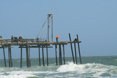 Rebuilding of the Rodanthe Pier!