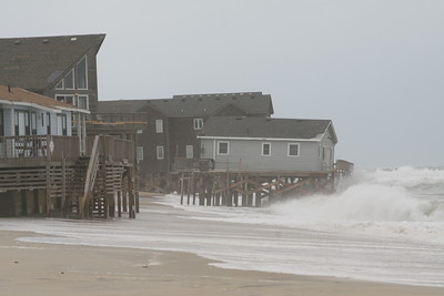 Northeastern storm at Rodanthe, NC 2012