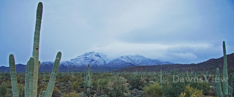Feb 11, 2013 Snow in Tucson, AZ