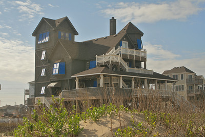 "Another view of ""Rodanthe Inn"" from the beach."