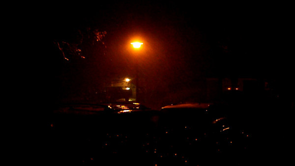 This was taken on Thursday, November 12, 2009. Located Approximately 5 miles west of the Virginia Beach Boardwalk near the Mount Trashmore area at about 9pm.  Wind Gusts of 75 MPH around the time of this video.
